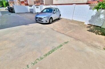 residence santa margarita rosas: studio 44 m², parking privé extérieur
