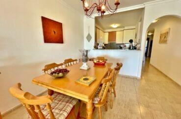 vente empuriabrava: appartement 3 chambres 128 m², coin salle à manger / cuisine ouverte