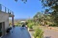 immo center roses: villa 250 m² 5 chambres, terrasse avec son barbecue