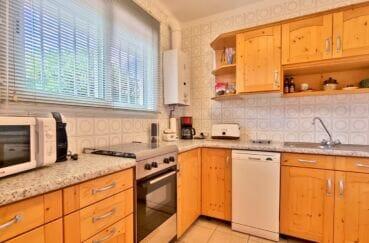 vente immobilier rosas espagne: villa 89 m² avec amarre, cuisine indépendante équipée