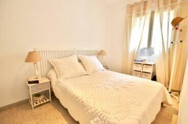 immobilier espagne costa brava vue mer: 3 pièces 44 m² terrasse, chambre à couché lumineuse