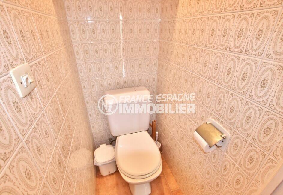 appartement a vendre a rosas, 2 pièces 55 m², wc indépendant, carrelage