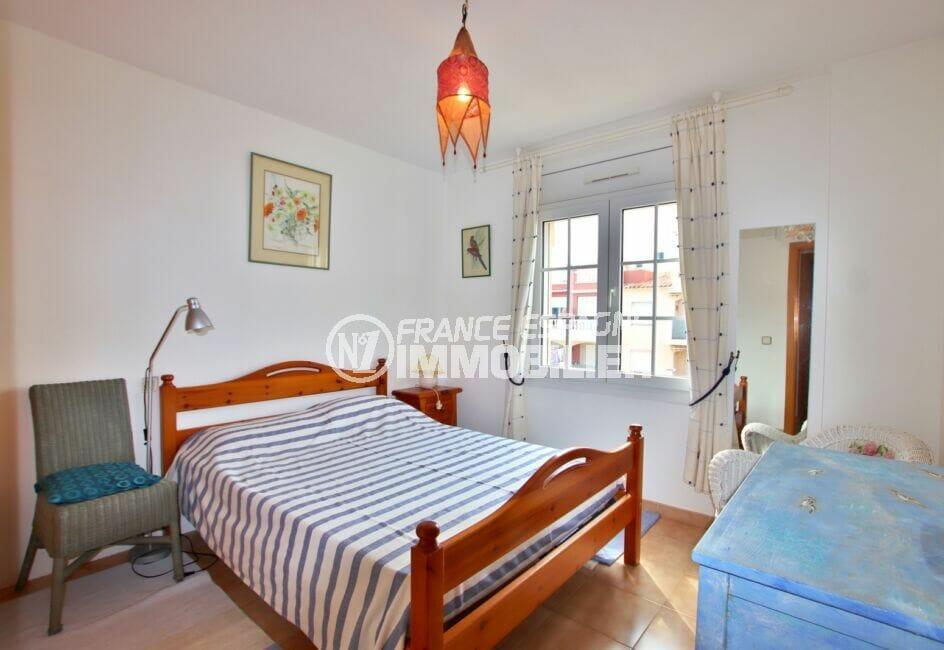 acheter appartement empuriabrava, 2 pièces 45 m², chambre à coucher avec lit double