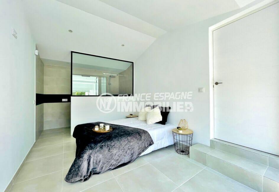 achat maison espagne costa brava, 105 m² avec 3 chambres, suite parentale avec salle d'eau