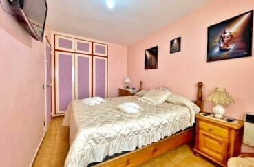 achat appartement costa brava vue mer, 3 pièces 60 m² front de mer, chambre 1 avec penderie intégrée