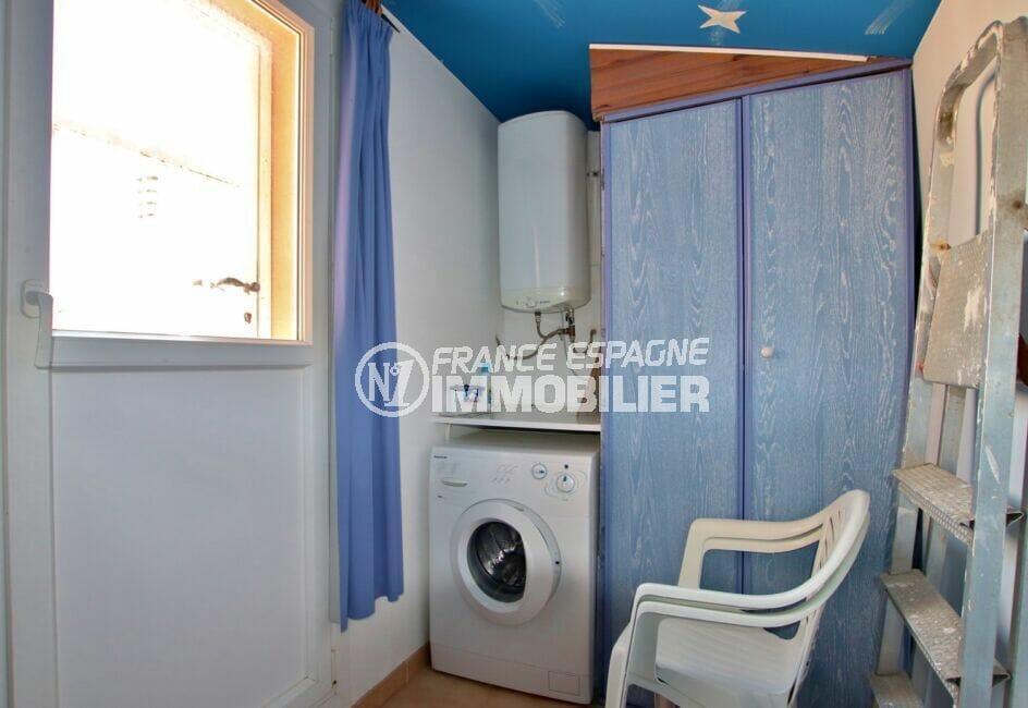la costa brava: appartement 2 pièces 45 m², buanderie avec rangements