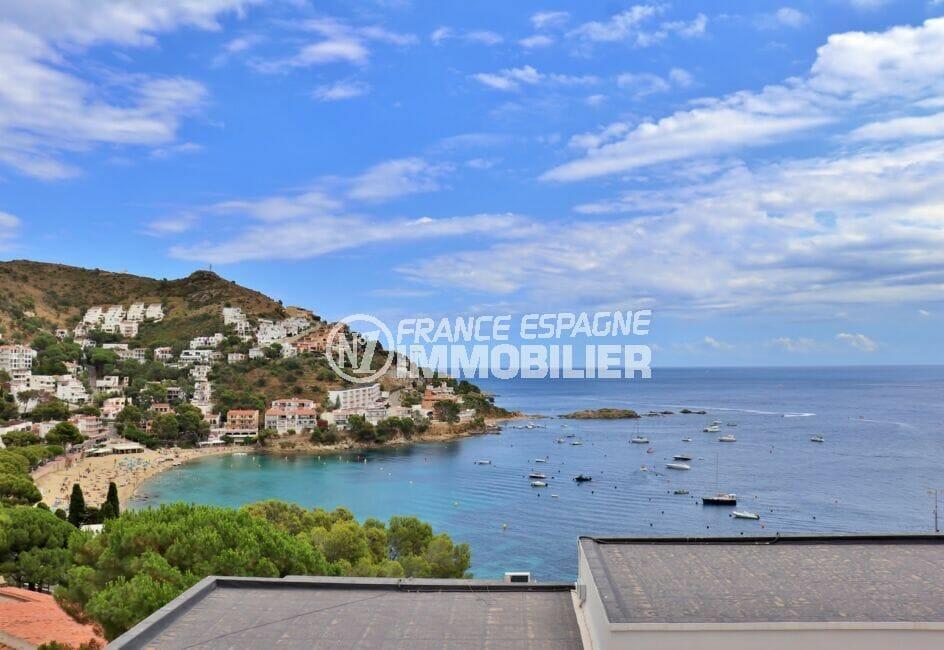 acheter appartement costa brava, 3 pièces 44 m², superbe vue sur la mer de la terrassse