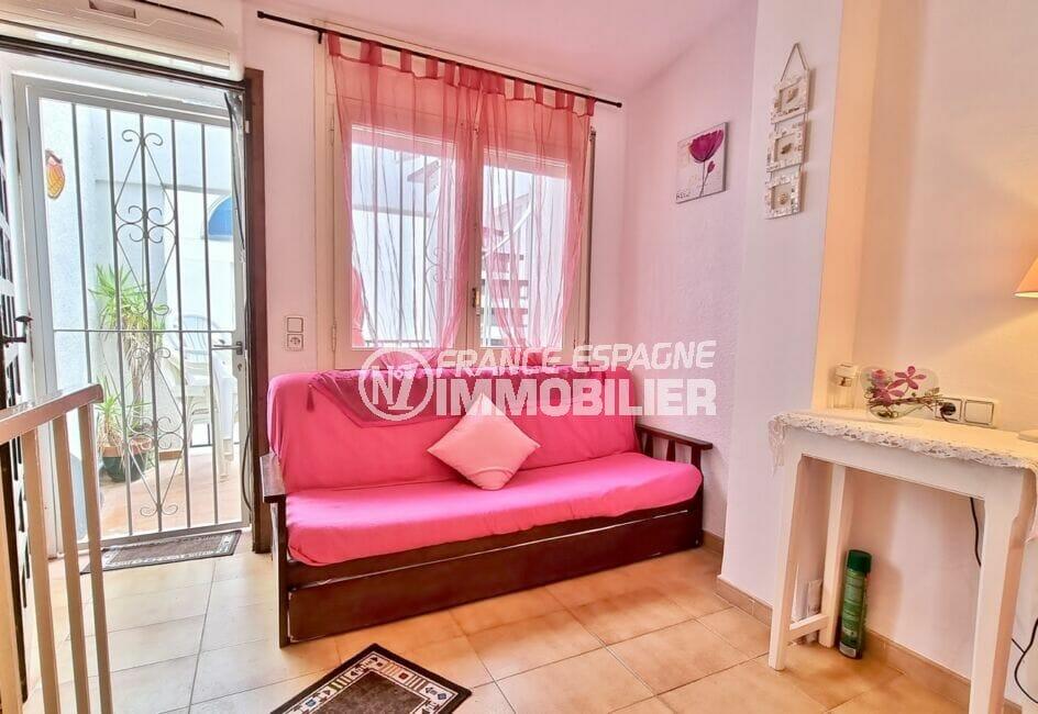 achat maison empuriabrava, 93 m², deuxième chambre, avec terrasse
