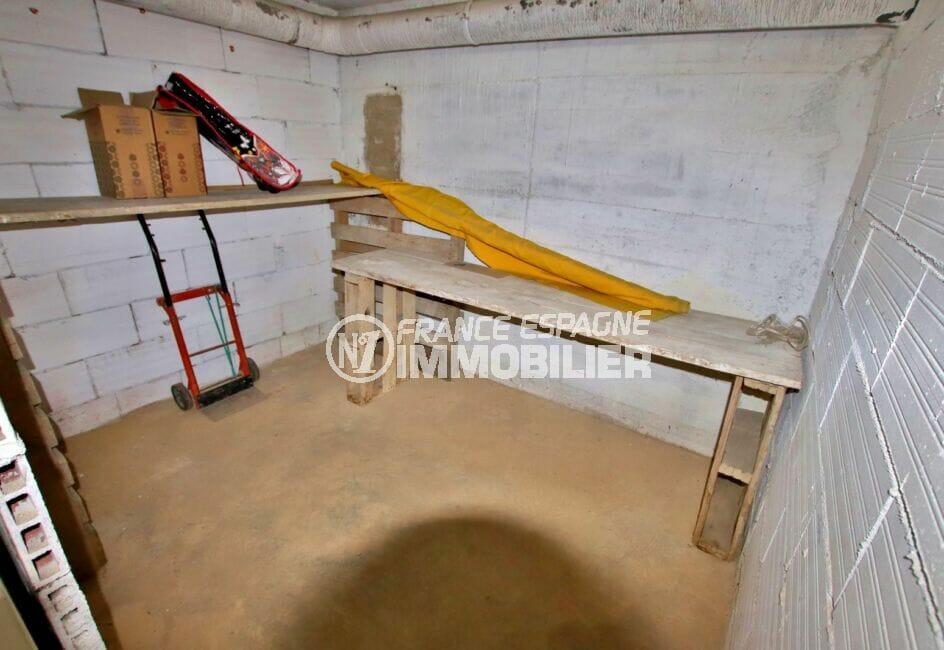 acheter appartement espagne costa brava, 2 pièces 45 m², cave en sous sol possible