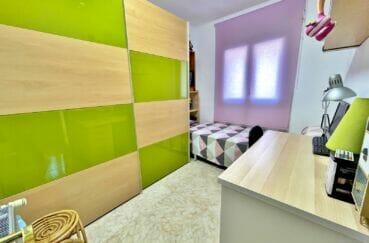 immo center rosas: villa 136 m², 2° chambre à coucher, lit simple