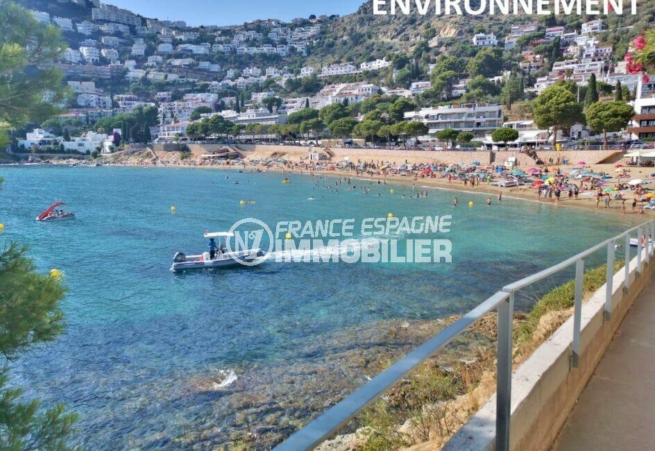 achat appartement catalogne bord de mer, ref.4212, plage de canyelles petites à proximité