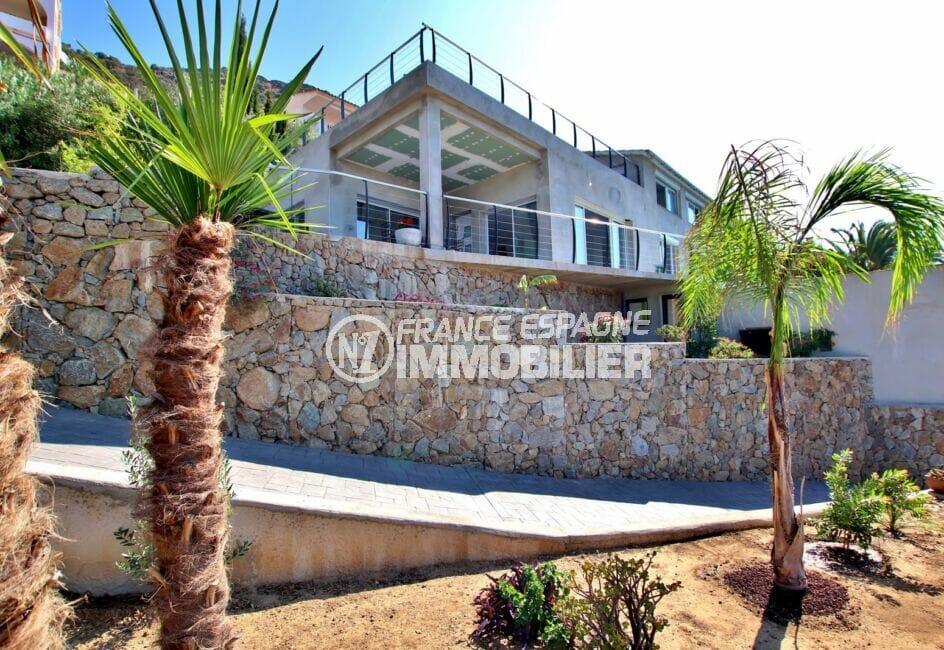 achat maison roses, 250 m² 5 chambres, villa comtemporaine dans secteur résidentiel