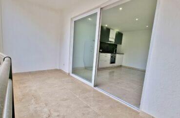 achat appartement costa brava, 47 m² 2 pièces rénové, terrasse couverte 8 m²