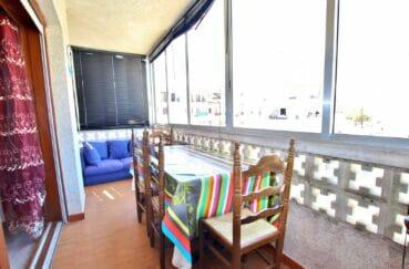 santa margarita espagne: appartement 2 chambres 83 m² avec terrasse / verranda de 33 m²
