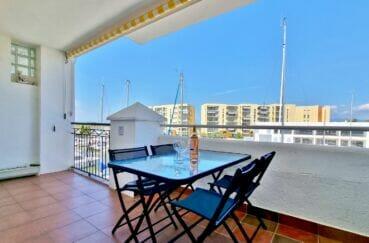 vente appartement rosas, 2 pièces 48 m² vaec terrasse 12 m² vue marina