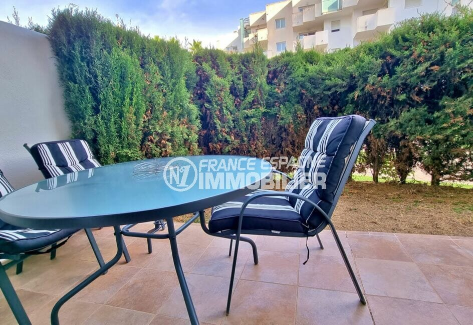 roses santa margarida: appartement 2 pièces 53 m², terrase 9 m² avec accès direct à la piscine