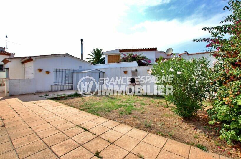 achat immobilier costa brava: villa 2 pièces 81 m², jardin avec barbecue et abri