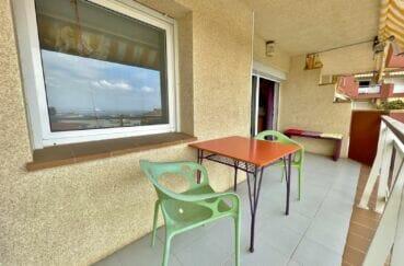 appartements a vendre a rosas, 2 pièces 46 m², terrasse vue mer et port orientée sud-ouest