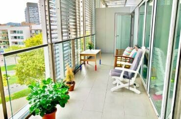 appartement a vendre costa brava, 160 m², luxe, 3 chambres, grande terrasse, vue mer