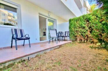 appartement a vendre a santa margarita, 2 pièces 53 m², terrasse 9 m² et jardin 13 m²
