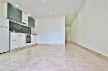 achat appartement espagne costa brava, 2 pièces 47 m² rénové, grande pièce à vivre