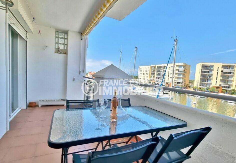 acheter appartement costa brava, 2 pièces 48 m², grande terrasse vue marina