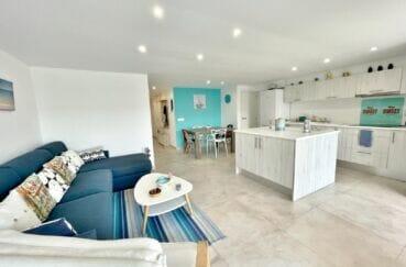 acheter appartement empuriabrava, rénové 2 chambres 53 m², grand séjour /salle à manger