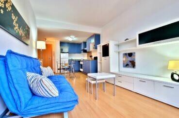 residence santa margarita: appartement 2 pièces 53 m², grande pièce à vivre avec espace repas