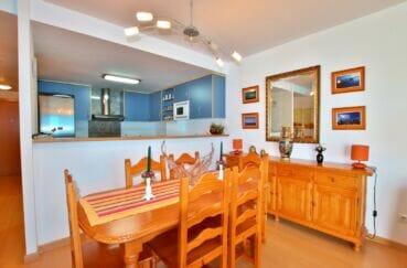 appartement a vendre a santa margarita, 2 chambres 81 m², coin salle à manger