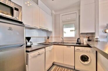 appartement à vendre rosas, atico 2 chambres 48 m², cuisine américaine équipée