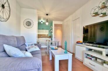 appartement à vendre à rosas espagne, 2 pièces 48 m², séjour, cuisine ouverte et entrée