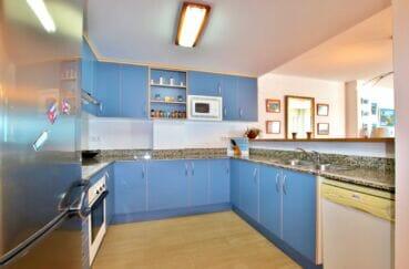 residence santa margarita: appartement 2 chambres 81 m², cuisine aménagée et équipée