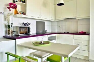 appartement a vendre roses, 2 pièces 46 m², cuisine ouverte aménagéee et équipée