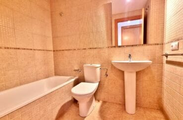 appartement a vendre santa margarita rosas, 2 pièces 53 m², salle de bains avec wc