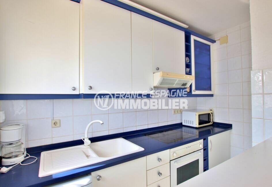 maison costa brava, 2 pièces 81 m², cuisine aménagée et équipée