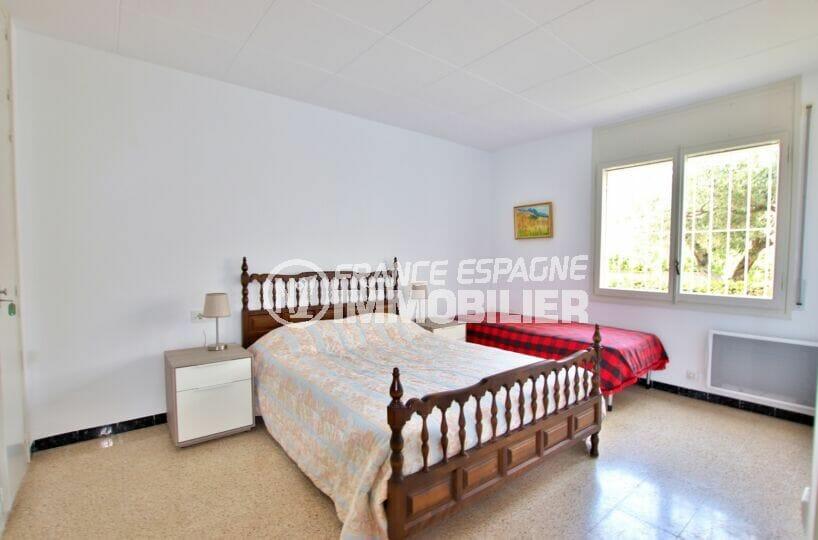 achat appartement rosas, 62 m² avec 1° chambre, lit double et lit simple