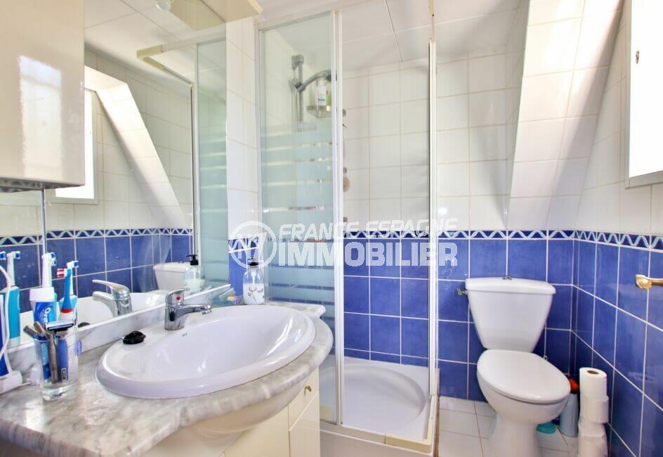 immobilier santa margarita: villa 3 chambres 55 m², salle de bains avec wc