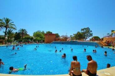 achat appartement espagne costa brava: studio 35 m²  avec grande piscine, tennis, jacuzzi, etc. dans la résidence