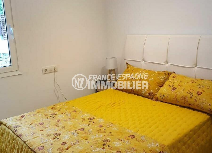 achat roses espagne: villa 3 chambres 140 m², seconde chambre avec lit double