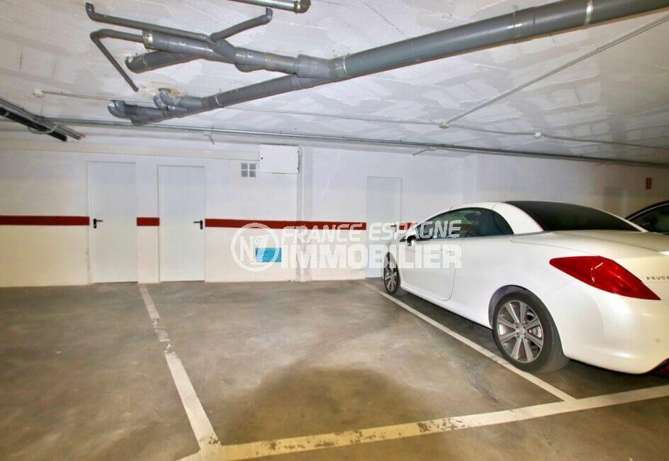 appartement a vendre santa margarita rosas, 2 chambres 81 m², cave et parking possible