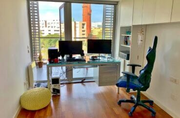 appartement a vendre espagne costa brava, 160 m² luxe, 3e chambre / bureau avec nombreux rangements