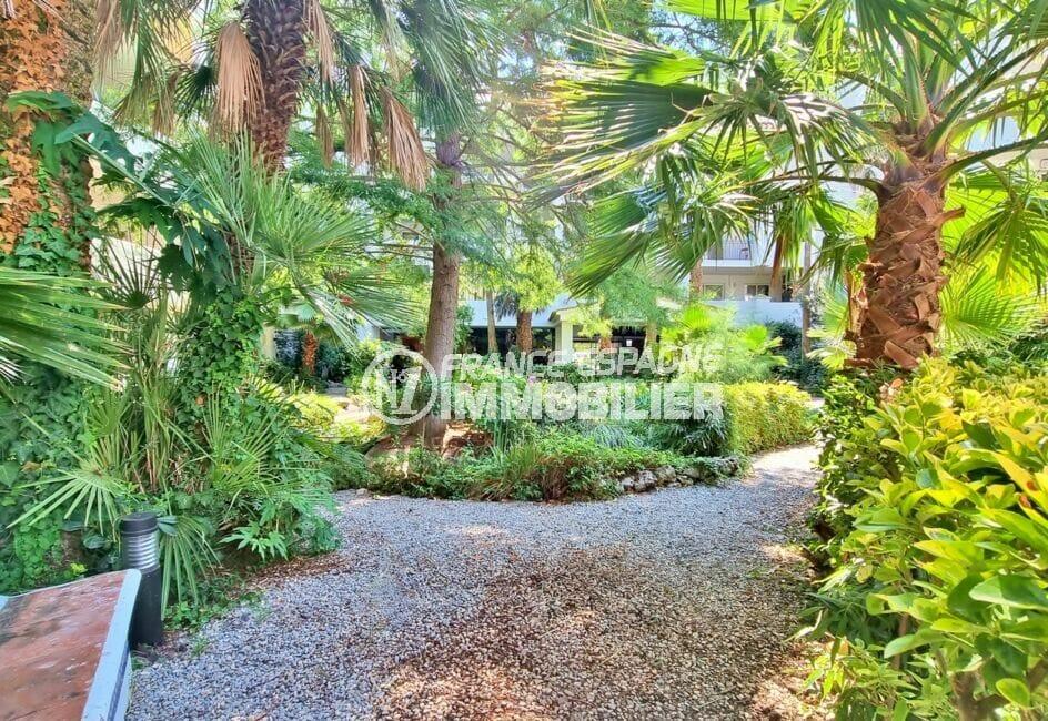 la costa brava: appartement 2 pièces 48 m², jardin paysagé et ombragé dans la résidence