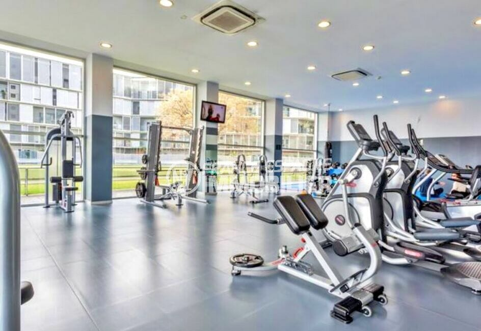 acheter sur la costa brava: appartement 160 m² luxe avec salle de sport pour adultes