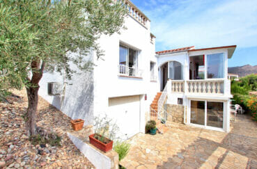 maison a vendre rosas vue mer, 4 chambres 182 m², vue mer, terrain de 342 m²