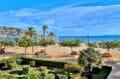 vente appartement rosas, 2 chambres 55 m², terrasse vue mer 10 m², jardin communautaire. plage et commerces 20 m