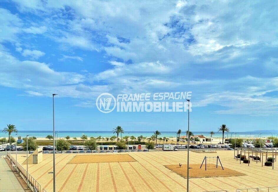 appartement empuria brava, 3 pièces vue mer 69 m², terrasse avec vue mer, exposition sud