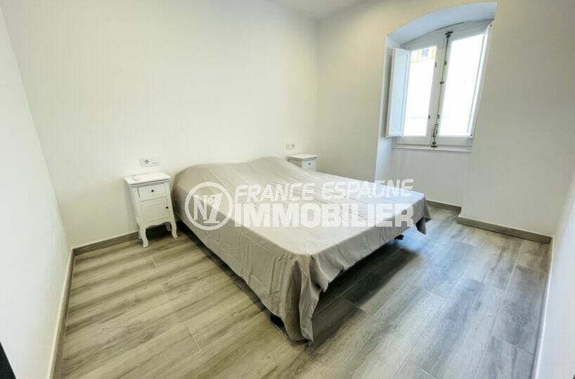 achat rosas: villa 3 chambres 102 m², 1° chambre à coucher, lit double