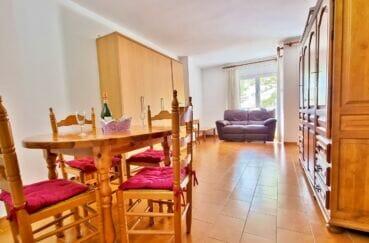 achat appartement empuriabrava pas cher, studio 37 m², salon/séjour avec coin repas, balcon