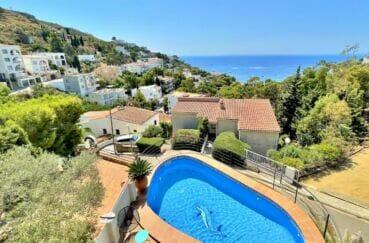 achat maison rosas espagne, 3 chambres 124 m², piscine privée à 450 de la plage