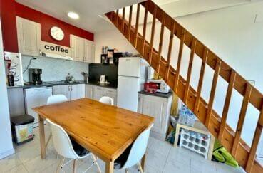 acheter appartement empuriabrava, 2 pièces 42 m² atico vue mer, cuisine ouverte aménagée